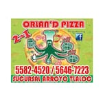 Logotipo Orlan´d Pizza