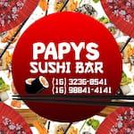 Logotipo Papy´s Sushi Bar
