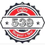 Logotipo 539 Coffee Burguer