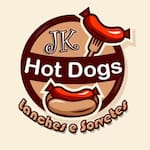 Logotipo Jk Hot-dog Gigante Goumert & Hamburguer