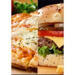 Logotipo Pizzaria, Hambúrguer e Açaí
