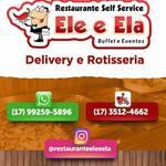 Logotipo Restaurante Ele e Ela