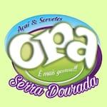 Logotipo Opa Açai e Sorvetes