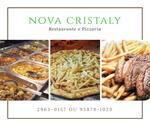 Logotipo Restaurante e Pizzaria Nova Cristaly