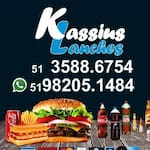 Logotipo Kassius Lanches Massas Delivery