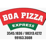 Logotipo Boa Pizza Express