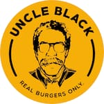 Logotipo Uncle Black Burger