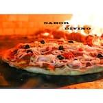 Logotipo Pizzaria Sabor Divino
