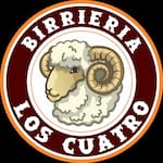 Logotipo Birrieria los 4