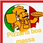 Logotipo Pizzaria Boa Massa