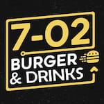 Logotipo 7-02 Burger & Drinks