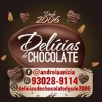 Logotipo Delícias de Chocolate