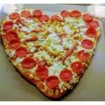 Logotipo Pizzas mia