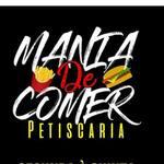 Logotipo Petiscaria Mania de Comer