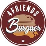 Logotipo 4Friends Burguer