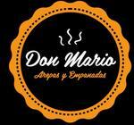 Logotipo Don Mario Arepas y Empanadas