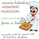 Logotipo Pizzaria Holandesa
