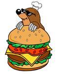 Logotipo Topo's Burger
