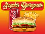 Logotipo Soph's Burguer