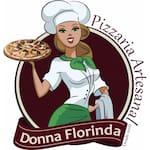 Logotipo Donna Florinda Pizzaria Artesanal