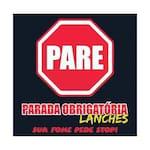 Logotipo Parada Obrigatória Lanches
