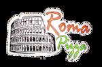 Logotipo Roma Pizza