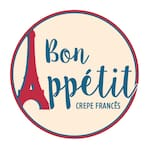 Logotipo Bon Appetit - Crepe Francês