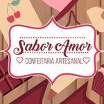 Logotipo Sabor Amor Confeitaria Artesanal