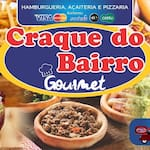 Logotipo Craque do Bairro Pizzaria e Hamburgueria