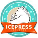 Logotipo Icepress Sorveteria - Milkshake e Açaí