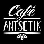 Logotipo Café Antsetik