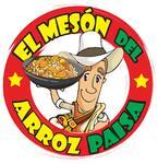 Logotipo El Meson del Arroz Paisa (cuba)
