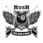 Logotipo RUSH POOL BEER & SNACK