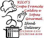 Logotipo Rico's Crepes, Caldos e Sopas Gourmet