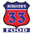 Logotipo Burguer 33 Food