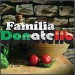 Logotipo Família Donatello Pizzaria Delivery