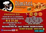 Logotipo Dimitri Restaurante e Pizzaria