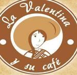 Logotipo La Valentina y su Cafe