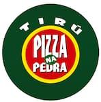 Logotipo Tirú Pizza na Pedra