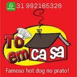 Logotipo Restaurante e Lanchonete To em Casa