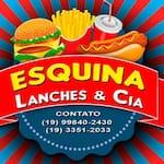Logotipo Esquina Lanches + Cia