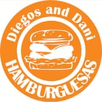 Logotipo Diegos and Dani HAMBURGUESAS
