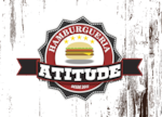 Logotipo Atitude Hamburgueria e Dog