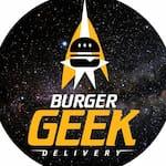 Logotipo Burger Geek Delivery