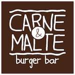 Logotipo Carne e Malte Burger Bar