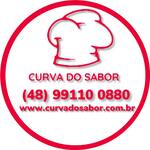 Logotipo Curva do Sabor - Delivery