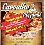 Logotipo Pizzaria Carvalho