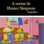 A Turma de Homer Simpsons Lanches