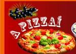 Logotipo Pizzai o Rei da Pizza