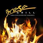 Logotipo Brasa Grill Churrasquilo e Pizzaria